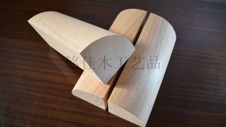 艾扬格榉木瑜伽辅助砖 瑜伽四分之一圆砖 瑜伽实木圆砖 弧形砖