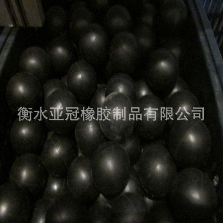 厂家直销橡皮弹力球天然橡胶材质圆球实心弹跳球