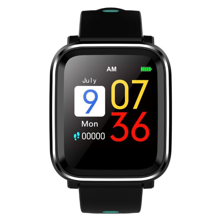 速賣通戶外運動測心率智能手環表跑步休閑時尚手表