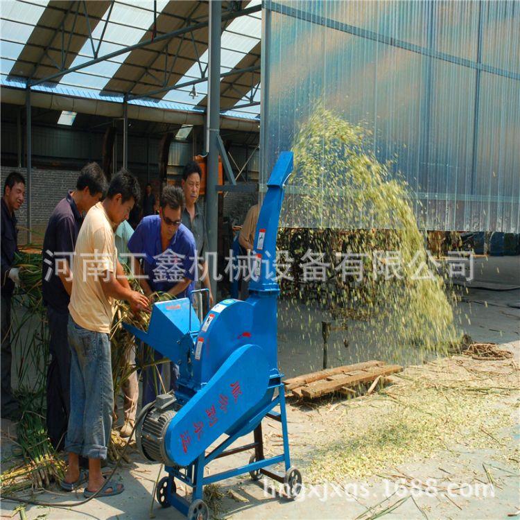 秸秆粉碎机 小型青贮铡草机 芦苇杆花生秧粉碎机