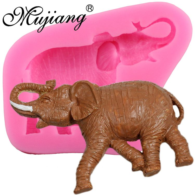 液态硅胶翻糖工具 蛋糕模具 巧克力模 DIY烘培工具 外贸热销 大象