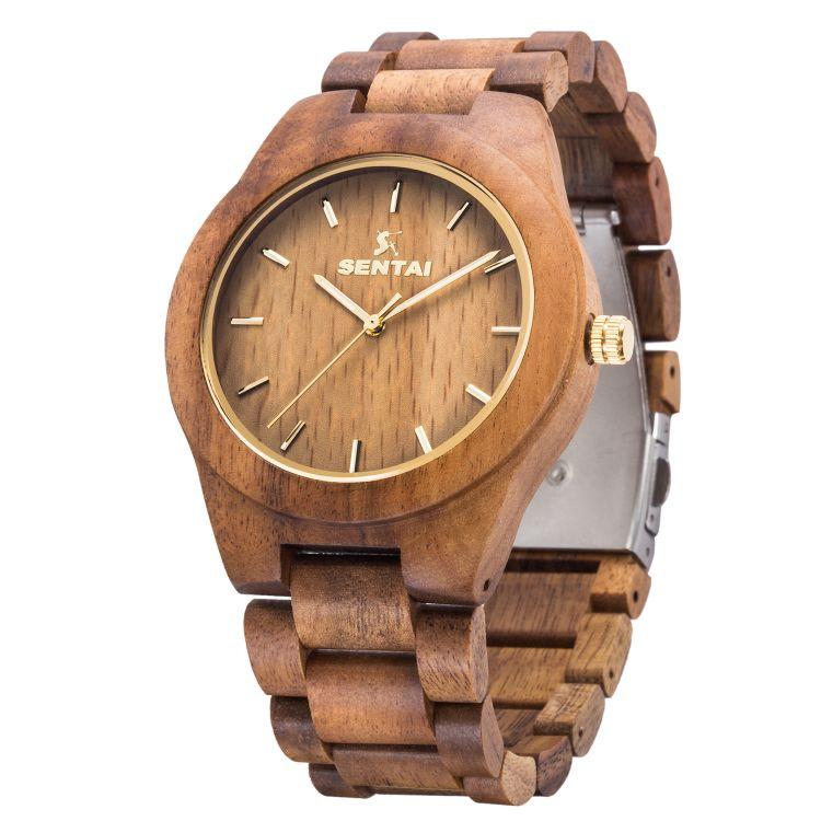 源头厂家供应现货优质新款木制手表  男士木头手表