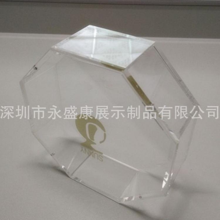 观澜透明亚克力盒子  透明有机玻璃罩子 八角亚克力盒子来图加工