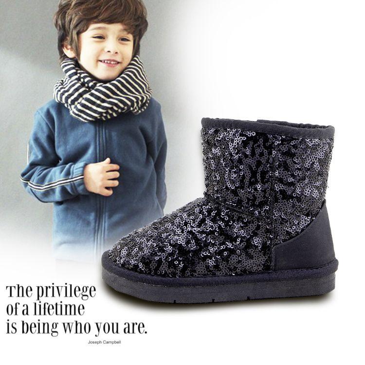 亮片雪地靴 防水 防滑 耐磨 雪地靴