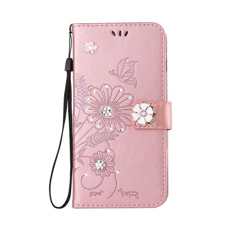 适用于iphone XS Max手机壳水钻皮套iphone XR手机皮套保护套翻盖