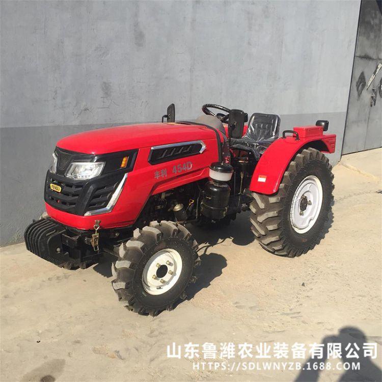 丰利454D轮式拖拉机 质保一年 多功能四轮 大马力 轮式拖拉机