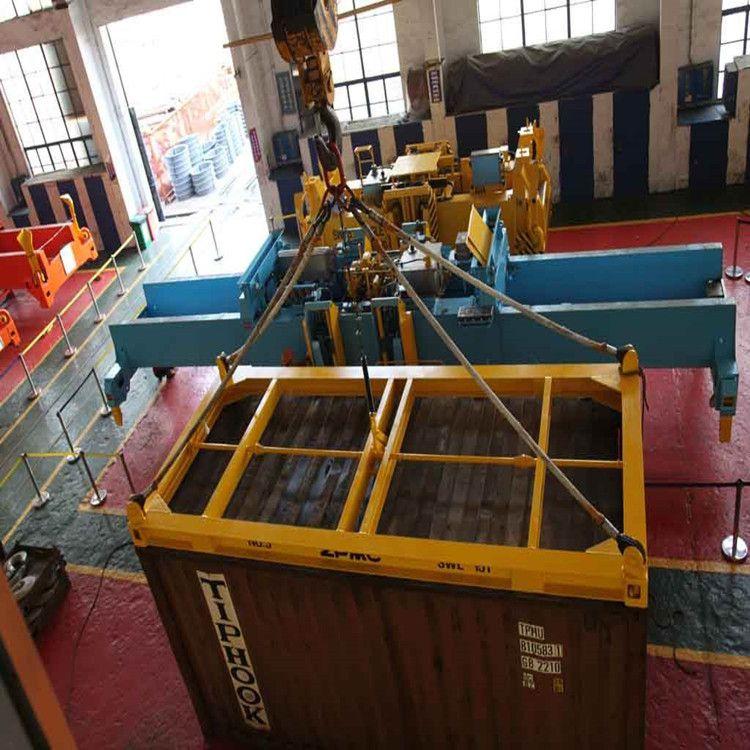 厂家直销港口码头专用半自动全自动集装箱吊具-集装箱吊梁