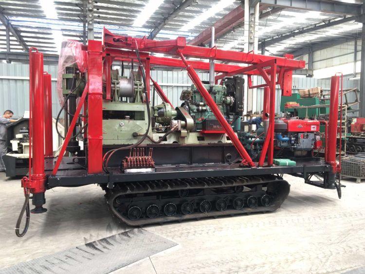 厂家供应XY-4岩芯钻机 改装千米钻 钻机底盘改装