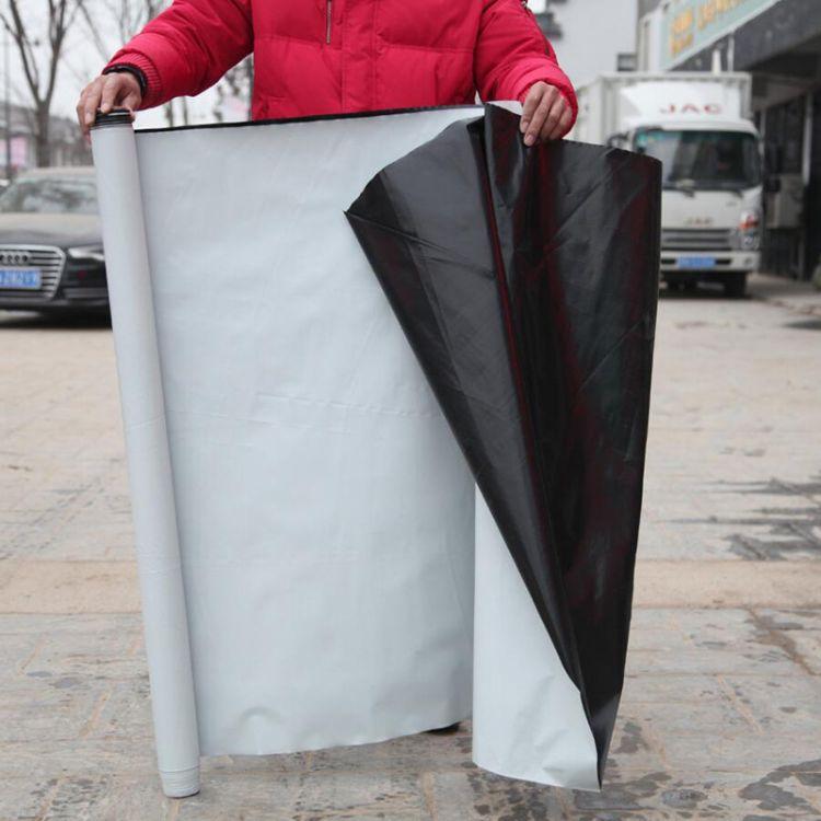 7丝14丝黑吧防水防潮膜 食用菌大棚节水保持湿度 PE材质养护膜