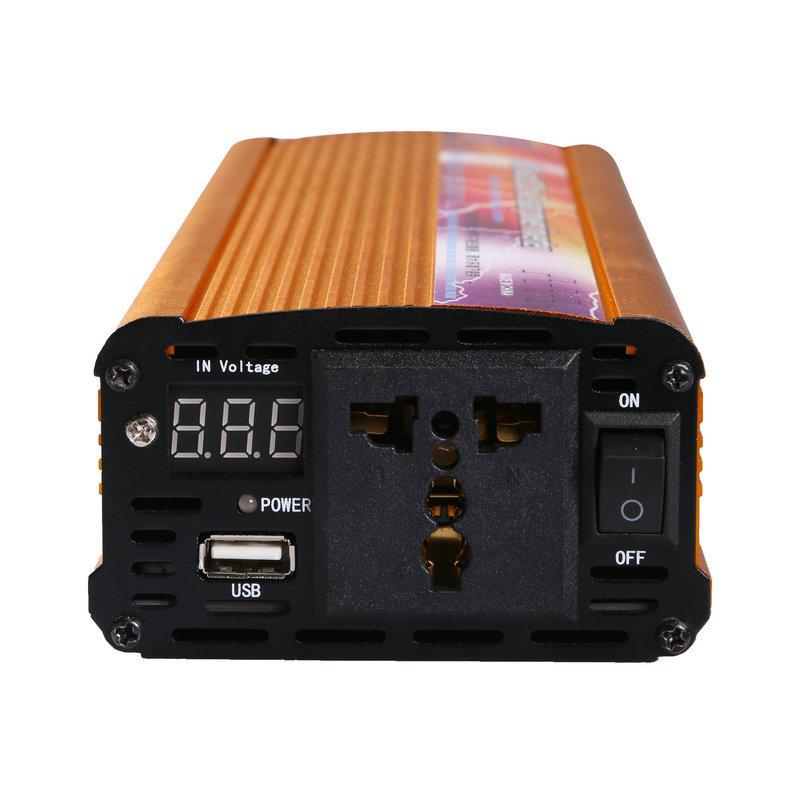 修正波逆变器900W电压转换器1500w车载逆变器12V24V转220V逆变器