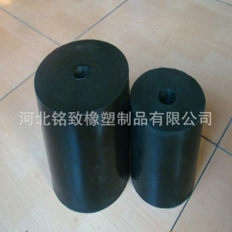 按需定做 橡胶减震块 圆柱形橡胶减震器 圆柱形橡胶弹簧