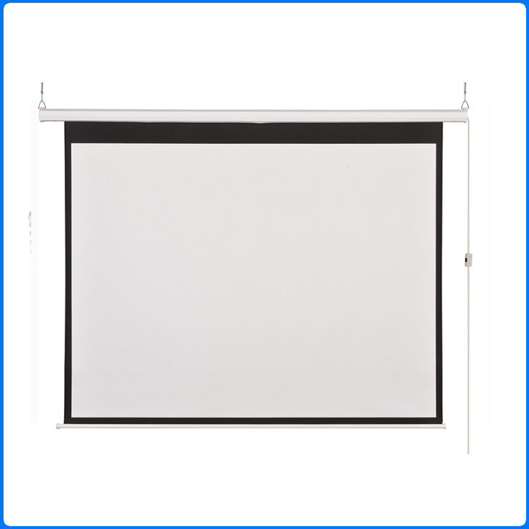 投影机幕布电动幕布150寸 玻纤材质高清投影幕 家用3d投影仪幕布