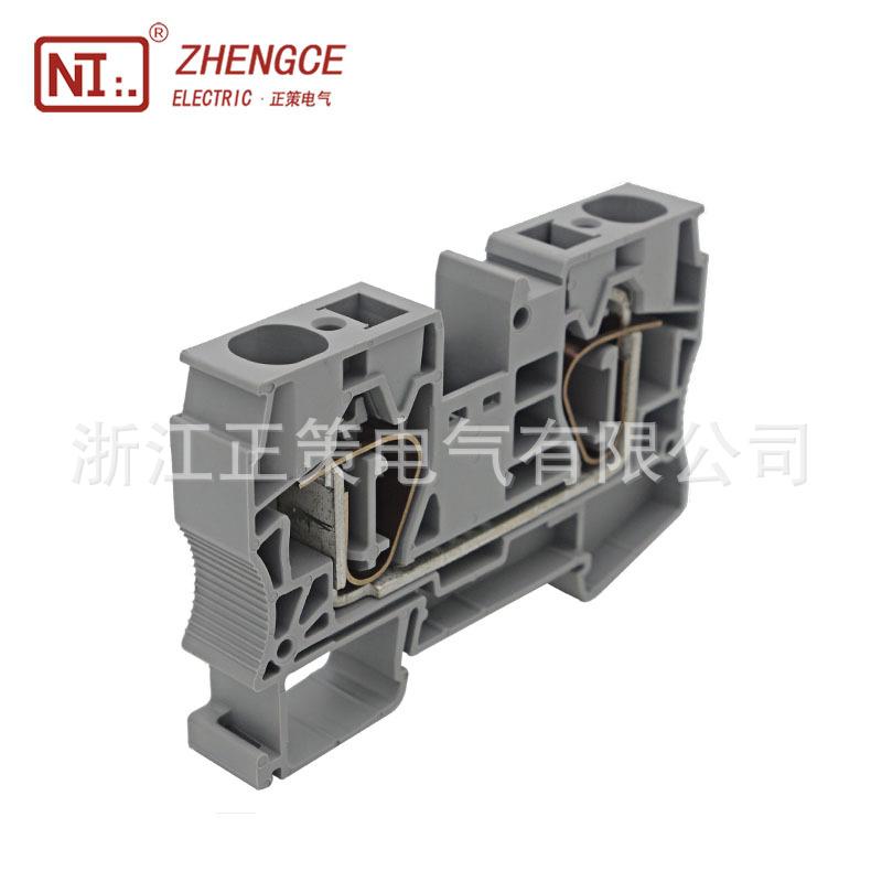 【厂家直销】笼式弹簧自锁端子ST-16  大电流弹簧端子