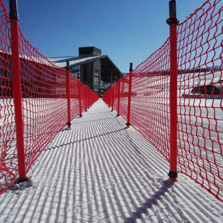 厂家聚乙烯滑雪场专用安全防护网  国际雪联标准滑雪场防护网