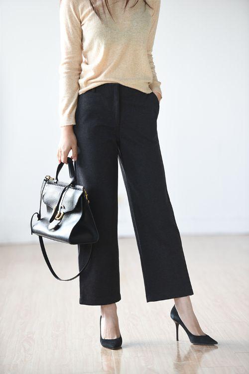 外贸原单日单女装日式日系出口精品厂家新款休闲裤A408