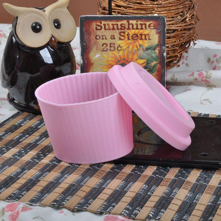 杯套 硅胶隔热杯套 硅胶防烫杯套 硅胶防滑杯套