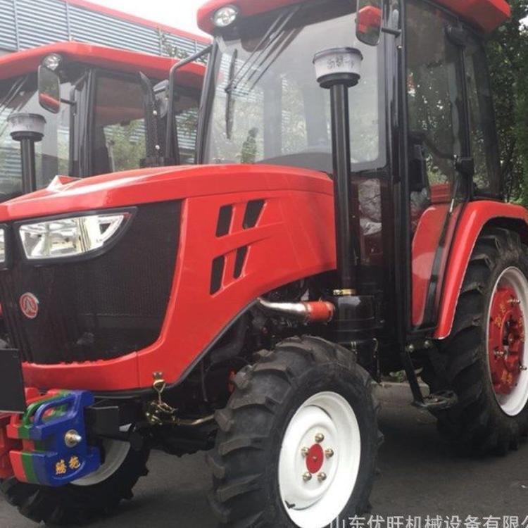 东方红拖拉机 中型拖拉机 大马力多缸四驱四轮拖拉机 旋耕犁地机