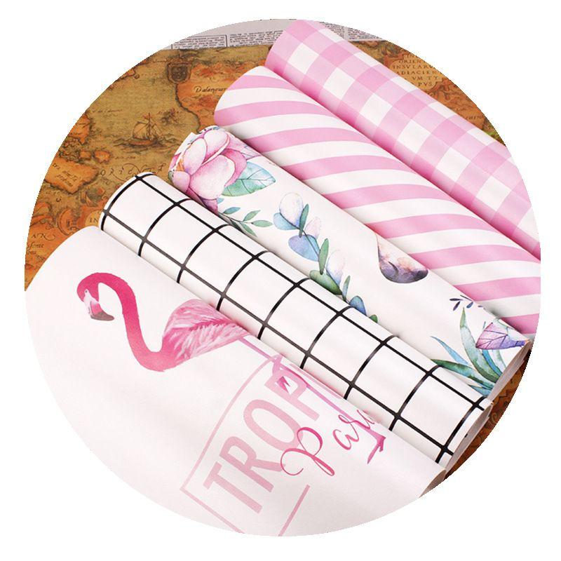火烈鸟小清新PU格子垫粉豹子粘土桌布防水纸粘土食玩垫板摄影背景