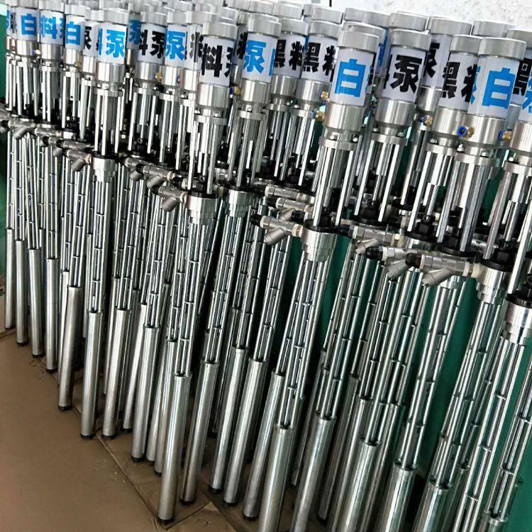 聚氨酯喷涂浇筑机 气动黑白料提料泵 外墙冷库喷涂专用提料柱塞泵