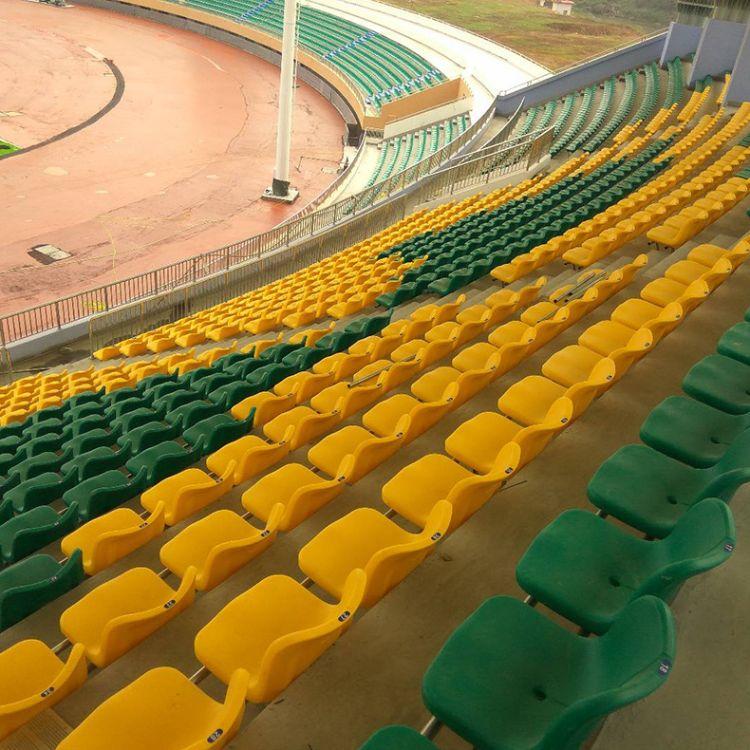 厂家直销体育场馆座椅高靠背固定座椅室内外固定看台座椅