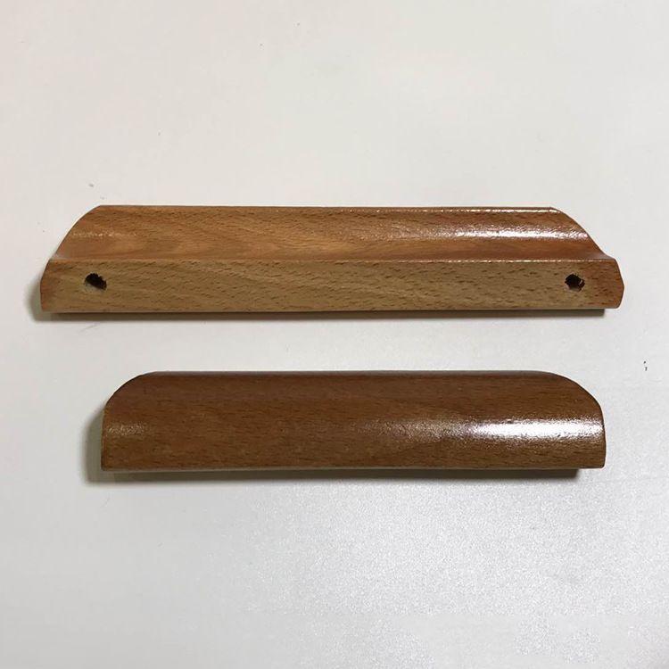 规格齐全 定制加工 厂家直销简约橡木木拉手 家具配件可定制