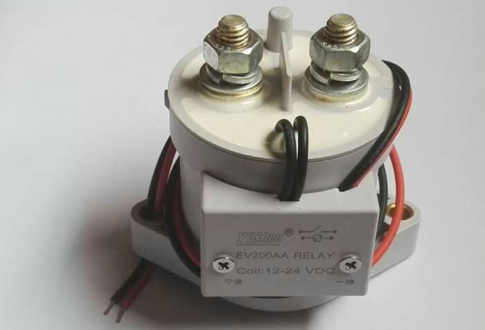 EV200系列直流接触器 噪声低安全稳定接触器 多用途直流接触器