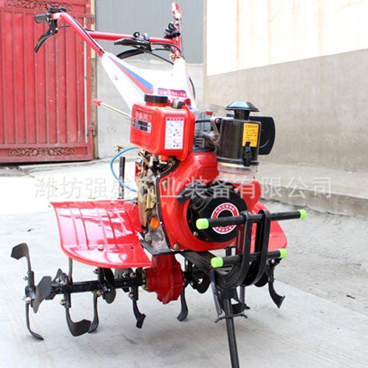 农用机械小型多功能开沟机 7匹大马力微耕旋耕机汽油耕地松土机