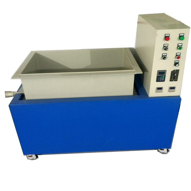 厂家直销大型单组平移式磁力研磨机双组平移式磁力研磨机磁力抛光