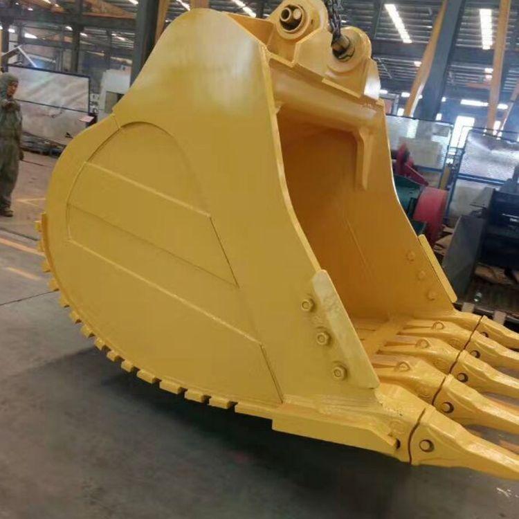 厂家直销 挖掘机挖斗sk350-8 挖掘机岩石斗 挖掘机配件现货订购