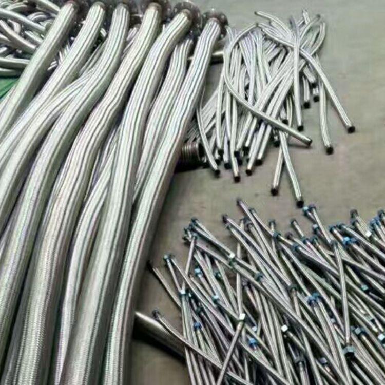厂家直销金属软管 304不锈钢金属软管 波纹管钢丝波纹金属软管