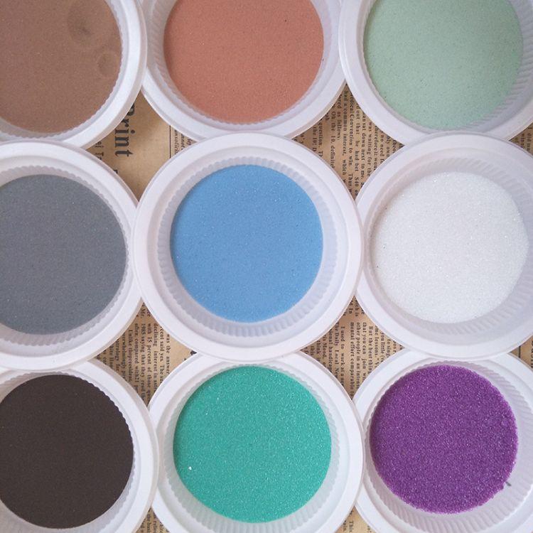 厂家批发 沙漏用玻璃微珠 勾缝剂填充用 彩色玻璃微珠