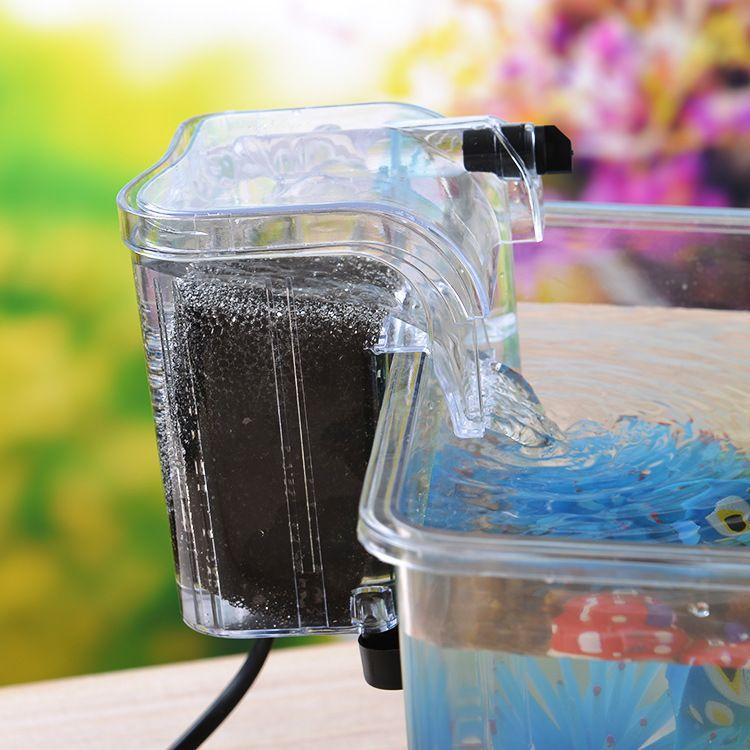 水族箱鱼缸过滤器迷你过滤器外挂过滤器水质过滤器DIY鱼缸过器
