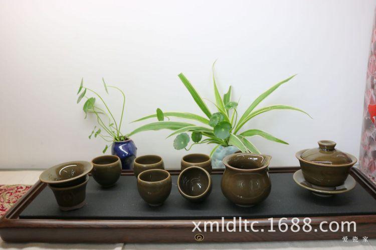 爱瓷家-高档茶具陶瓷 建盏功夫茶具 厦门批发定制茶叶沫茶具