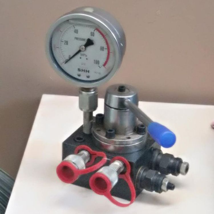 电动液压泵配件超高压换向阀总成 液压泵多路换向阀 液压机具配件