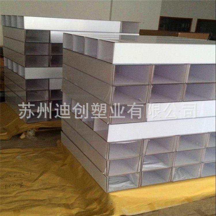 多角度折弯pc板加工 透明实心pc板加工成型 机器防护罩折弯加工