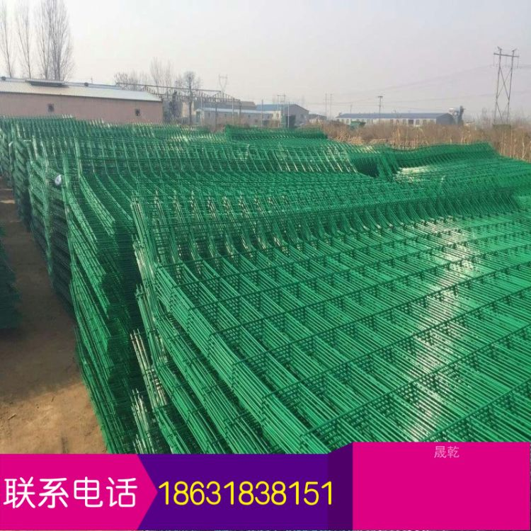 【公路围栏】国产边框防护网 折弯隔离栅 围墙护栏 厂家自销
