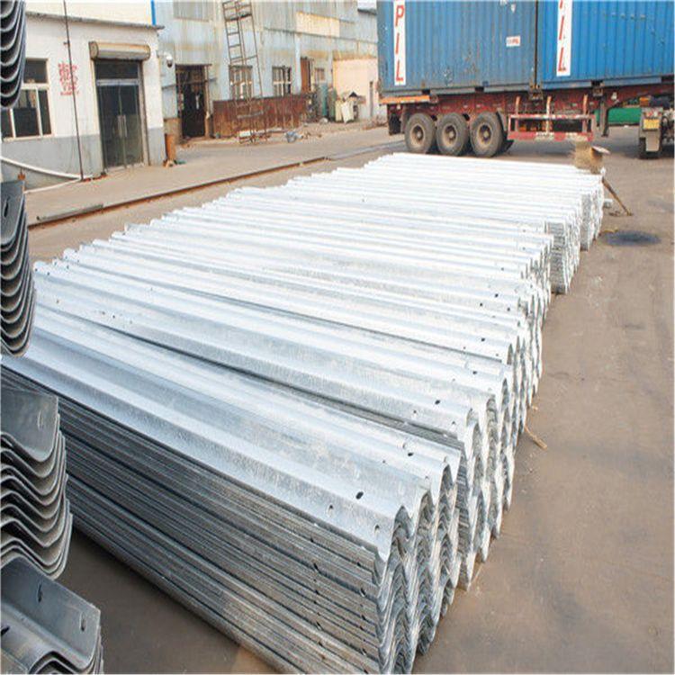 高速波形梁护栏 波形护栏板 热镀锌喷塑护栏板