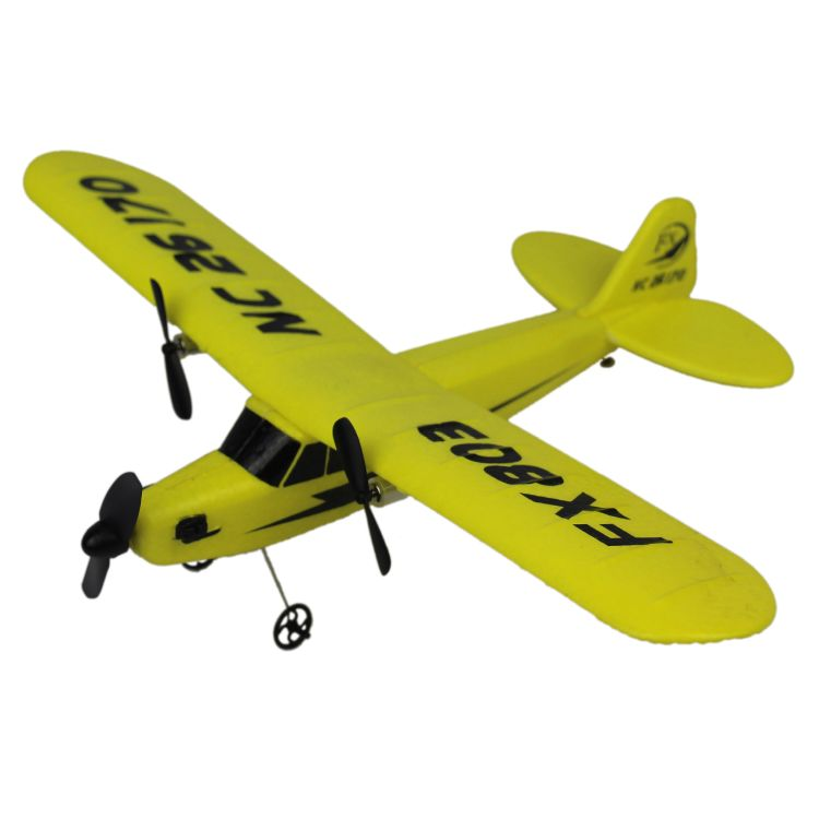 2.4G两通遥控滑翔机FX803泡沫滑翔机EPP固定翼遥控飞机 航模玩具