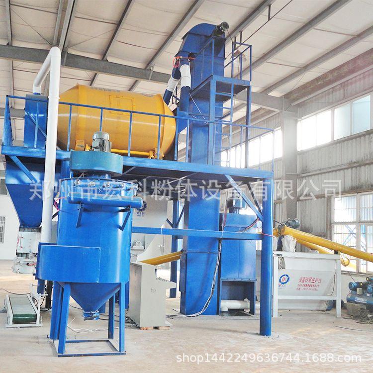 宏科厂生产珍珠岩保温板全套设备,珍珠岩玻化微珠砂浆生产线