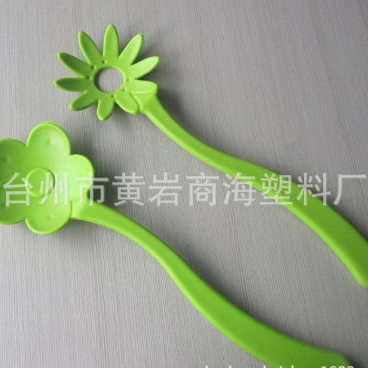 供应沙拉勺 塑料勺子 沙拉勺组合 塑料花拍