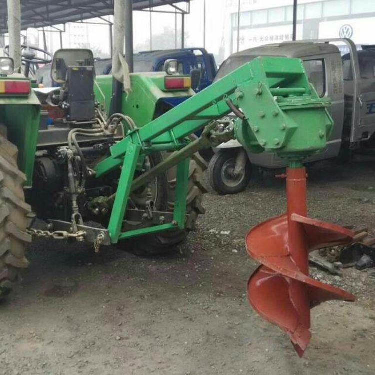 厂家直销螺旋式挖坑机  种植果树用打穴机  多功能栽树机