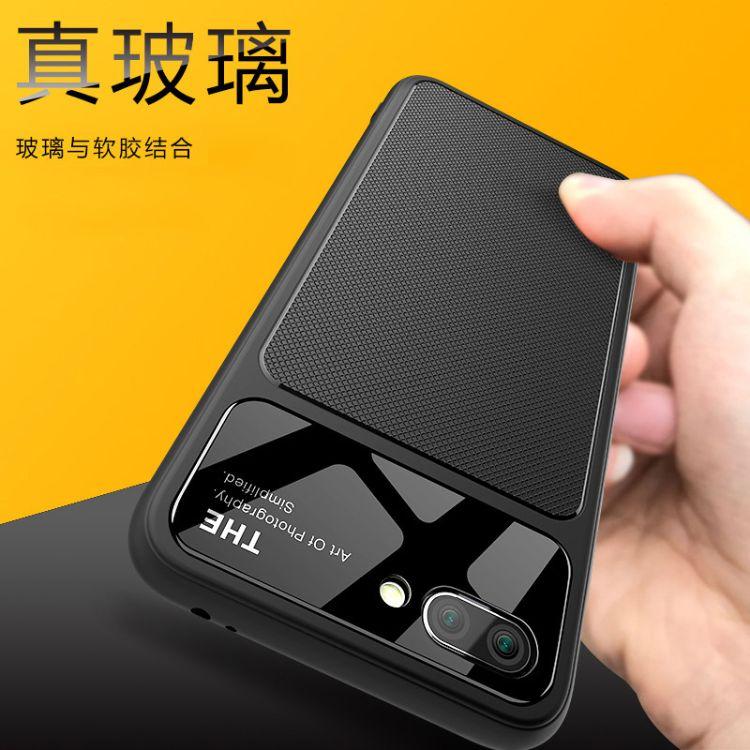 爵士系列新款华为荣耀10手机壳TPU钢化玻璃壳全包玻璃9i手机壳