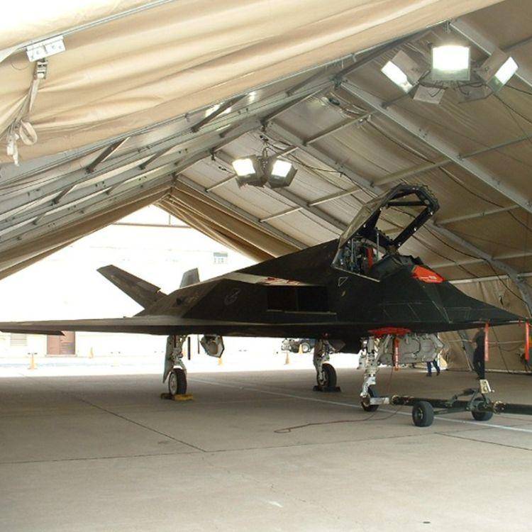 卡帕机库帐篷可作为临时机库或永久性机库篷房 大型机库仓库篷房