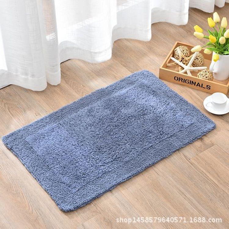 双面绒回纹地垫糖果色地垫绒面地垫门垫浴室防滑垫