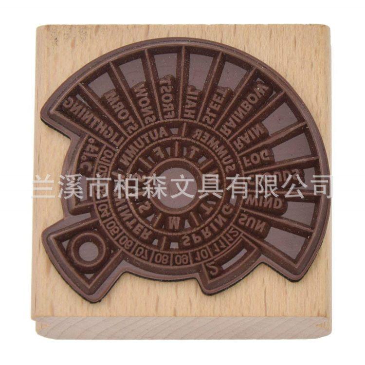 厂家直销定制儿童玩具印章 字母印章 卡通木质印章套装 礼品