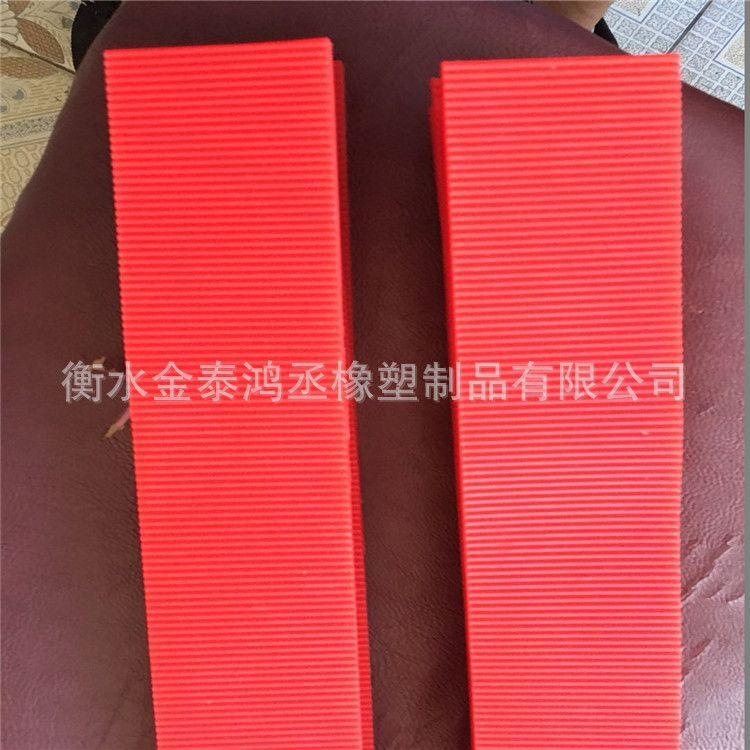 耐温硅橡胶齿带 轮胎成型翻包机衬带 红色橡胶鼓带 外齿硅胶齿衬