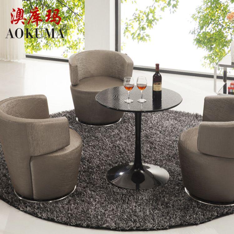 时尚休闲创意单人椅子 酒店大堂圆形单人椅子 客厅家具批发