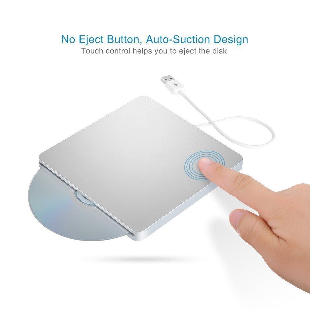 批发MAC 苹果笔记本 USB外置 吸入式 康宝COMBO光驱 CD音乐刻录机