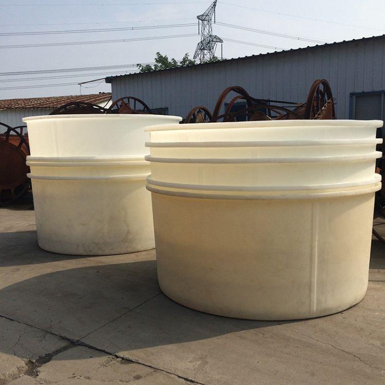 常州食品5000L带盖塑料圆桶 酸菜腌制圆桶 加厚含盖子塑料鱼池