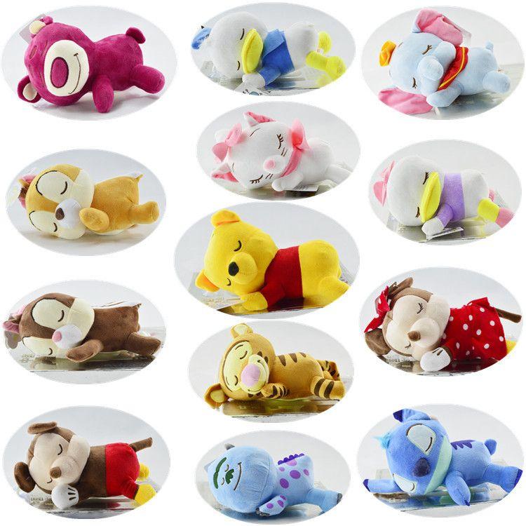 厂家批发毛绒玩具日本卡通趴姿睡颜卡通抓机娃娃机公仔儿童玩偶